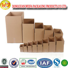 Paper Corrugated Carton Box With Plastic Handle For Electric Appliance