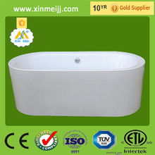 Reliable chinese factory direct free standing oval bathtub