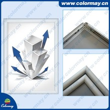 25mm profile wall mounted aluminum snap frame, A1 A2 A3 A4 Poster Frame, Extrusion Snap Fram