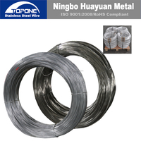Topone 0.30mm-18.0mm 304 Half Hard Stainless Steel Wire
