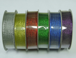 Colorful Woven Organza Ribbon/Professional Supply Woven Single Face Satin Ribbon