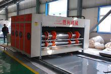 Carton printing machinery fruit carton chain rotary printing 4 blade die-cutting combined machine