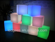 LED light waterproof bright multi color furniture bar and pub furniture led glow furniture