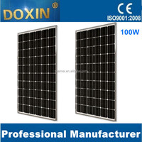 Made In China solar panel 100W mono solar panel