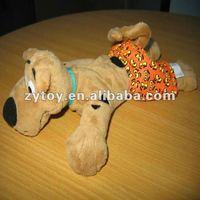 Custom lifelike sleeping breathing plush toys pug dog