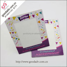 Alibaba Chinese supplier factories green custom paper photo frame insert