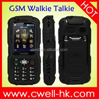 IP67 Waterproof cell phone Discovery A12i Analog TV mobile phone with walkie talkie Dual SIM Card GSM Walkie Talkie