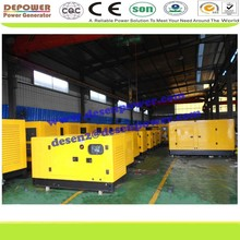 With world famous engine 8-1500KVA,open/silent diesel generator supplier from china