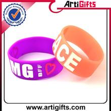 2015gold supplier 100% quality control fashional sea band wristband