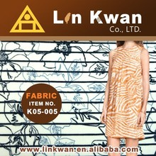 Linkwan Taiwan bed sheets 50% cotton 50% polyester high quality knit dress fabric