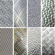 1100 1050 8011 Embossed Aluminium sheet for AC