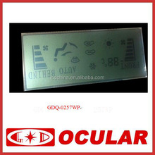 Automobile Sgement Transparent LCD Display