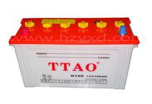N100 dubai manufacture sealed dry auto cars batteries/cells