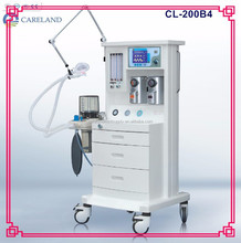"CL-200B4 CE approved Advanced Multi-function ICU anaesthesia equipment with 10.4"" Ventilator anesthesia machine"