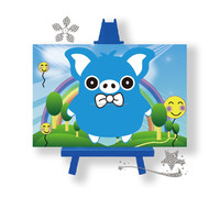 3D Diy diamond painting with cartoon pattern 10*15cm for wholesale