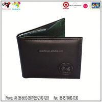 2015 Premium and promotion item !! promotional suede card wallets for men