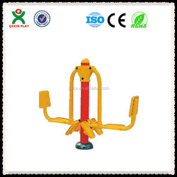 Hot sell leg press trainer/discount gym equipment/outdoor free exercise equipment/QX-11075D