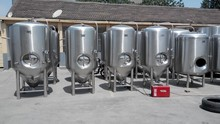 5BBL electric heating brewhouse equipment, beer brewing vendors, brew kettle