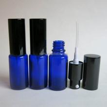 Livraison gratuite 15 ml bleu bouteille de Lotion de verre avec pompe Spraye
