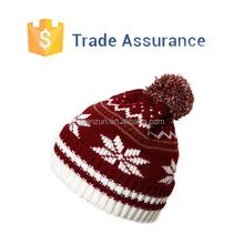 Qianzun Jacquard Knitted Hats Mens Winter Hat Knit Hats Free Pattern