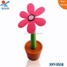 fancy design flower shape plastic ball pen