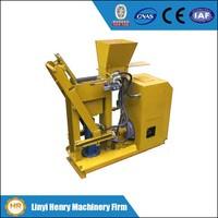 HR1-25 Hydraulic compressed earth blocks machines interlocking brick making machine,manual cement brick machines