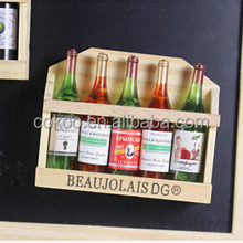 Wine Bottle Fridge Magnet Best Acrylic Refrigerator Magnet for Home Decoration made in china
