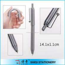 promotional gift metal spring pen flexible pen