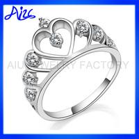 Tiara/Crown Engagement Rings