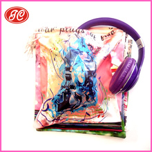 Alibaba.com Receiver Hotest Wholesales Mobile Phone/ MP3/Radio Packaging headphones Pouch headset bag headgear cases