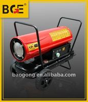 30kw portable diesel oil fired space heater