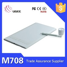 Wholesale Ugee M708 10 inch 2038 levels cheap animation pen tablet