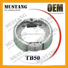 Chinese Motorcycle Parts Brake Shoe for TB 50