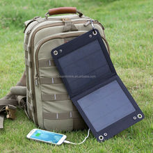 Flexible 7W foldable solar charger solar mobile charger for iphone solar panel