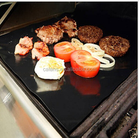 Non-stick BBQ cooking mat / Miracle Barbecue solution for Gas, Charcoal