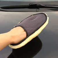 2015 High Quality Merino Wool Wash Mitt Car Cleaning Pad