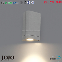 Bridgelux cob 10w IP65 up and down led outdoor wall light