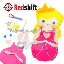 OEM En71 art & craft kit Create your Sewing doll Princess