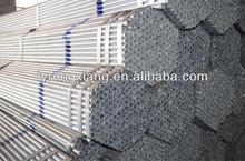 rigid Galvanized Black square steel tube for farm fence
