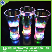 400ml Customized Cheap Plastic Colorful Drinking Glass With LED Light, LED Light Up Colorful Drinking Glass For Bar/Event/Party