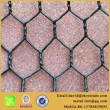 PVC coated Hexagonal wire mesh for gabion basket