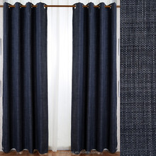 100% polyester elegant living room curtain