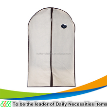 travel mini packaging foldable non woven garment bag wholesale/nonwoven suit cover
