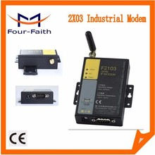 F2103 multi SMS GSM modem industrial IP Modem with sim card slot DIN Rail RS232 RS485 serial port support TCP/IP & AT command