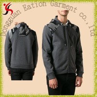 hot selling top quality plain hoodies, plain 100% polyester hoodies,tall hoodies