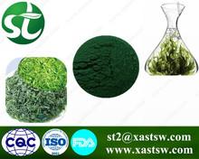 Herbal extract Spirulina softgel slimming green powder