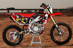 Deluxe version 4 stroke 250cc dirt bike motorcycle