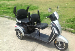 Customized electric tricycle for two passenger