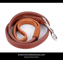 leather dog leash,dog leads,leather dog leads emboss your LOGO