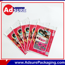 Hot sale plastic poly custom printed mailing bags with Serial bar code
